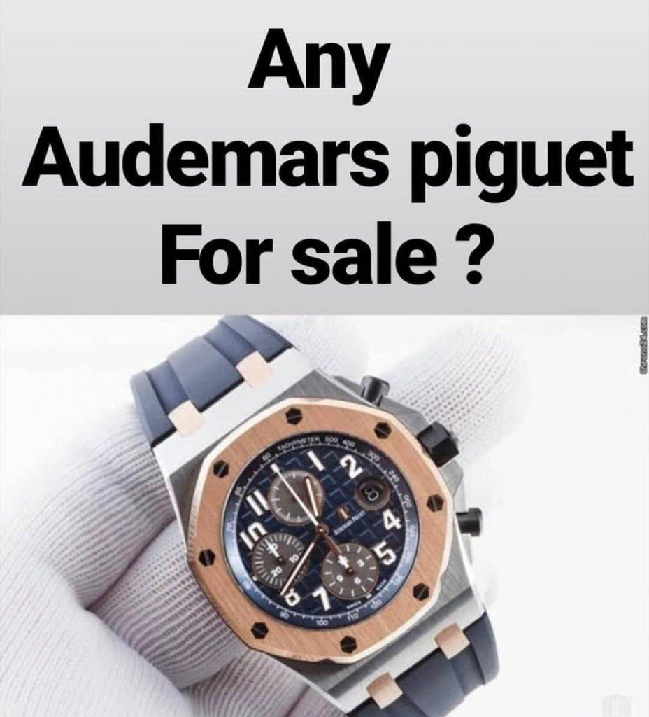 شراء ساعة اصلية مستعملة