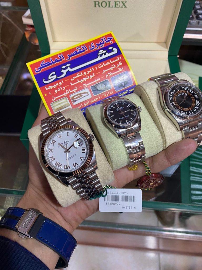 طريقة بيع او شراء ساعة رولكس أصلية