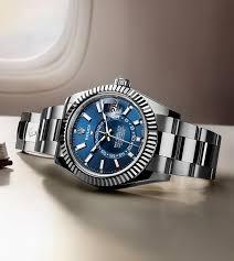 كيفيه بيع وشراء ساعة رولكس سكاي دويلر الاصلية