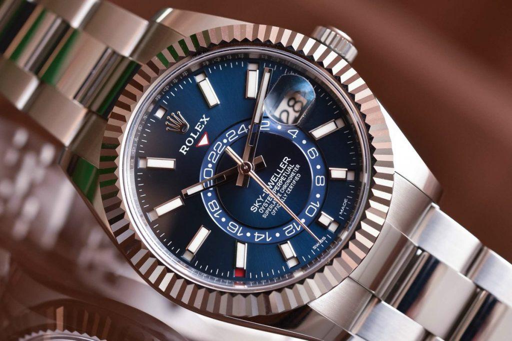 للبيع ساعة رولكس سكاي دويلر